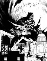 BATMAN by JASON PEARSON NOW ACCEPTING COMMISSIONS, Comic Art