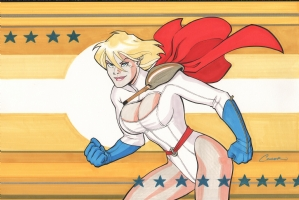AMANDA CONNER'S POWERGIRL Comic Art
