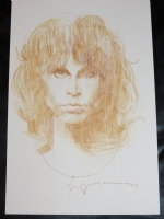 BILL SIENKIEWICZ - JIM MORRISON Comic Art