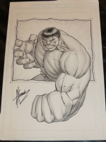 DALE KEOWN - HULK Comic Art