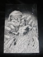 DALE KEOWN -FLASH #7 VARIANT COVER Comic Art