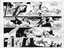 Uther the Half Dead King pages 55 & 56 dps Comic Art