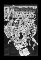 Avengers #150 Comic Art