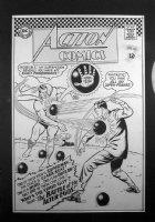 Action #341 Comic Art