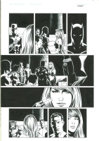 New Avengers #5 p19 - Steve Epting / Rick Magyar Comic Art
