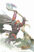 Ironman and Loki - Esad Ribic Comic Art
