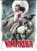 JG JONES Vampirella Comic Art
