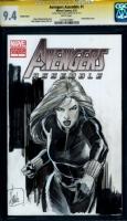 Lee Weeks Black Widow Comic Art
