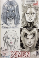Female X-men Villains JAM Comic Art