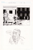 Charlie Adlard Walking Dead Iss 34 Extra panels, Comic Art