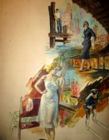 Robert Maguire Paperback Painting Comic Art
