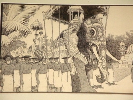 Winsor McCay Editorial Cartoon Closeup Comic Art