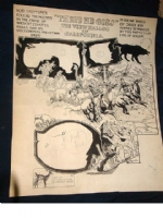 1906 H.G. Peters Sunday Feature Art Comic Art