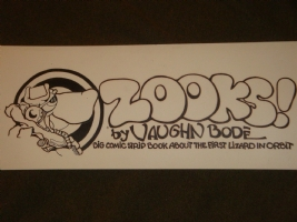 Vaughn Bode ZOOKS! Cover Comic Art