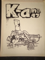 Vaughn Bode 1969 Fanzine Cover Comic Art
