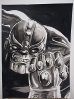 Thanos Commission Comic Art