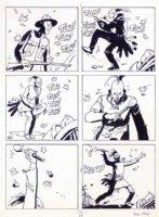 hugo pratt jesuit joe page Comic Art