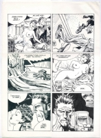 jordi bernet torpedo page (nudity!) Comic Art