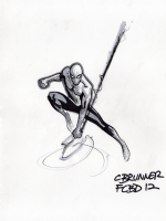Spider--man by Chris Brunner Comic Art