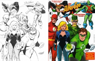Justice League jam by Joe Kubert, Nick Cardy, George Perez, Ramona Fradon, Joe Giella, Dick Giordano & George Tuska Comic Art