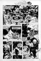 Winter World # 1 Page # 23 by Jorge Zaffino Comic Art