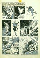 Vampirella page from issue # 66 by Jose [ Pepe ] Gonzalez  Comic Art