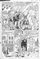 the secret origin of Hourman -pg.10 by Michael Bair & Mike Gustovich Comic Art