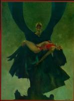 Sanjulian-(Vampirella # 12 cover painting)-size-15 3/4 x 22 1/4 Comic Art