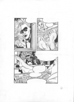the Blonde  -( pg. 71 ) by Franco Saudelli Comic Art