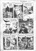 Milton Caniff -  Strictly For the Smart Birds , page 5-- 1951-- Harvey giveaway comic Comic Art