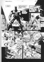 Batman vs.Predator # 4 pg. #10 by Paul Gulacy & Terry Austin Comic Art