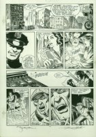 the Shadow -Hitler's Astrologer pg. 13 by Michael W. Kaluta & Russ Heath Comic Art
