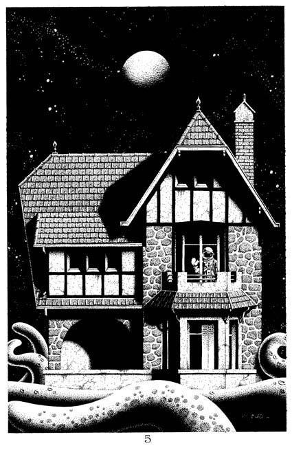 Banlieue lunaire - pg 5 Comic Art