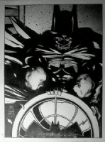 BATMAN:BAT SIGNAL, Comic Art