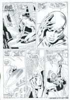 Silver Surfer # 14 page 6 by John BUSCEMA Comic Art
