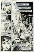 Conan the Barbarian # 45 page 15 by John BUSCEMA, Neal ADAMS and fellow Crusty Bunkers ! Comic Art