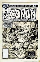 Conan the Barbarian # 91 cover by John BUSCEMA Comic Art