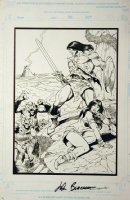 Conan the Barbarian unpublished cover Comic Art