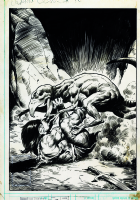 Conan the Barbarian # 95 cover by John BUSCEMA Comic Art