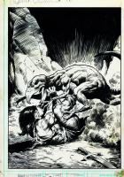 Conan the Barbarian # 95 cover by John BUSCEMA Comic Art