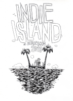 Indie Island 2013 T-Shirt Design Comic Art