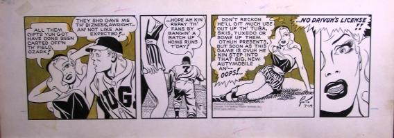 Ozark Ike Dinah! Comic Art