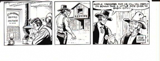 Latigo daily Comic Art