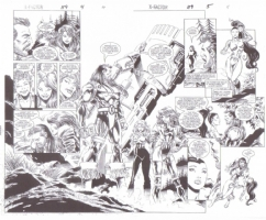 X-Factor # 119 Comic Art