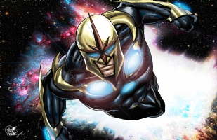 Nova from Marvel Comics, Comic Art