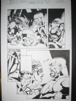 Joe  Madureira - Uncanny X-men # 343 pg 3 Comic Art