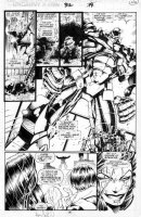 Joe  Madureira - Uncanny X-men #312 pg 19 Comic Art