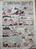 Ken Reid Bing Bang Benny circa 1959 Comic Art