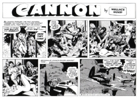 Cannon C 30 (top half) Comic Art