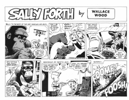 Sally Forth S 51 (top half) Comic Art